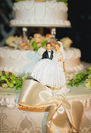 В каком ресторане отметить свадьбу? Свадеьный торт