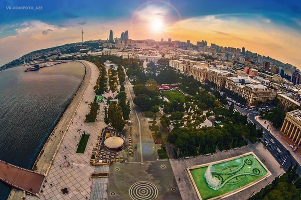 Карта сокровищ Баку