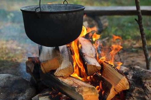 Первобытная кулинария или как приготовить еду на костре
