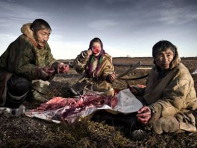 Что едят те, кто живет за Полярным кругом