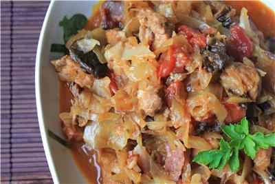 Тушим бигос - кулинарная магия в чистом  виде