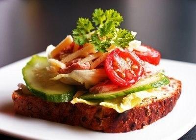 Как есть бутерброды и не толстеть