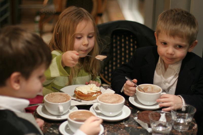 Детские праздники в ресторане